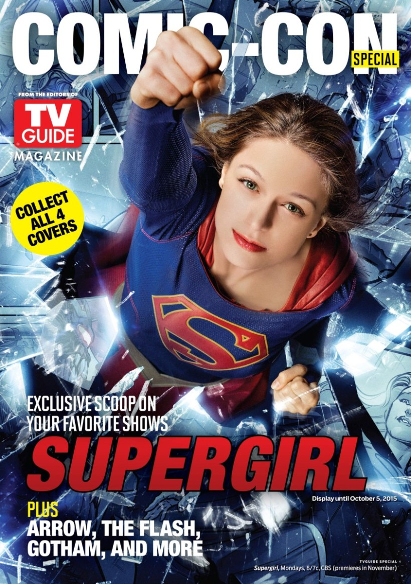 SUPERGIRL - TV Guide cover