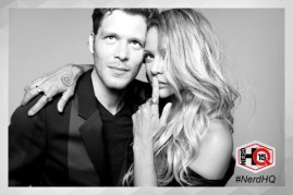 The Originals Nerd HQ Photo Booth Joseph and Persia 3