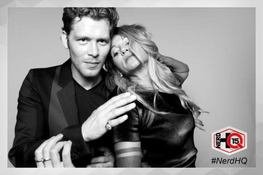 The Originals Nerd HQ Photo Booth Joseph and Persia 6