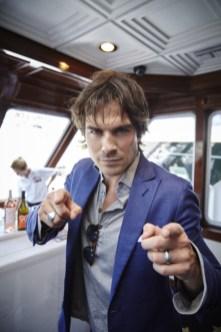 The Vampire Diaries TV Guide Magazine Yacht 7