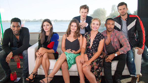 TV Guide Magazine Yacht at Comic Con – The Originals 1