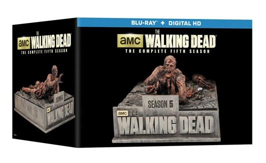 TWD Season 5 Limited Edition Blu-Ray - box