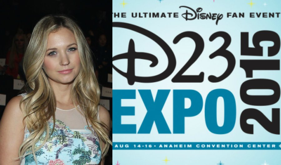 Meet pretty little liars a actress vanessa ray at d23 expo meet vanessa ray a from pll at d23 expo disneys ultimate fan event m4hsunfo