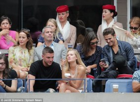 US Open - Paul Wesley and Phoebe Tonkin 13