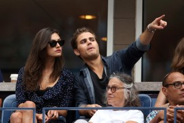 US Open - Paul Wesley and Phoebe Tonkin 3
