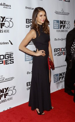 New York Film Festival - Bridge Of Spies - Nina Dobrev 5