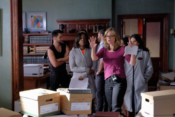 BTS How To Get Away With Murder 2x08 - JACK FALAHEE, VIOLA DAVIS, CHARLIE WEBER, JENNIFER GETZINGER (DIRECTOR), AJA NAOMI KING (OBSCURED), KARLA SOUZA