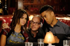 BTS The Fosters 3x11 - MAIA MITCHELL, PETER PAIGE (DIRECTOR), TOM WILLIAMSON