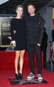 David Duchovny Walk of Fame Star - Claire Holt 11
