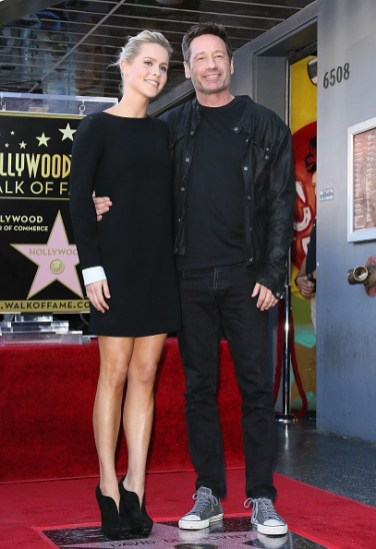 David Duchovny Walk of Fame Star - Claire Holt 14