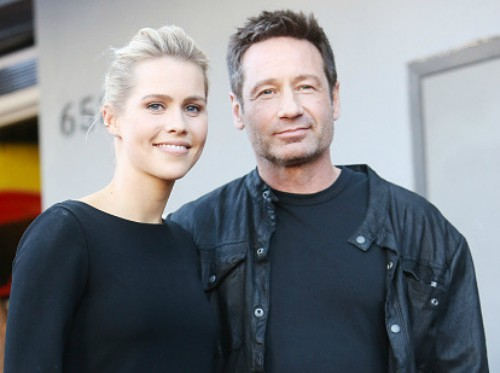 David Duchovny Walk of Fame Star - Claire Holt 16