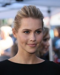 David Duchovny Walk of Fame Star - Claire Holt 2