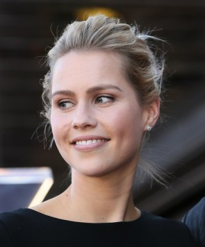 David Duchovny Walk of Fame Star - Claire Holt 5
