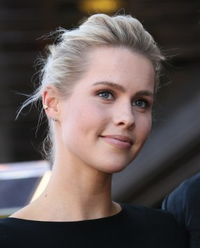 David Duchovny Walk of Fame Star - Claire Holt 6