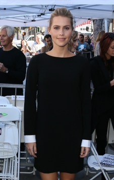 David Duchovny Walk of Fame Star - Claire Holt 7