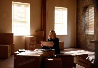 "The Blacklist 3x11 ""Mr. Gregory Devry"" -- Pictured --Megan Boone as Elizabeth Keen"