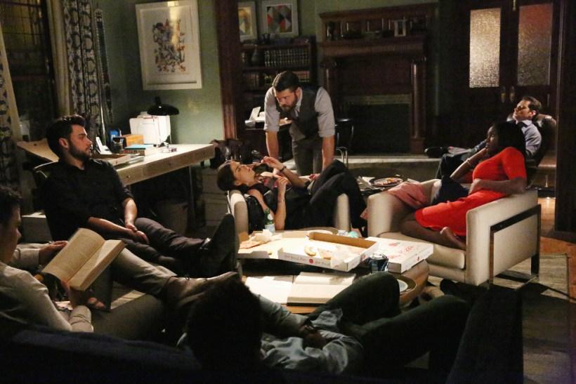 How To Get Away With Murder 2x14 - JACK FALAHEE, KARLA SOUZA, CHARLIE WEBER, AJA NAOMI KING, MATT MCGORRY