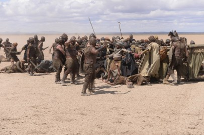 """OF KINGS AND PROPHETS - An epic biblical saga of faith, ambition and betrayal as told through the eyes of the battle-weary King Saul, the resentful prophet Samuel and the resourceful young shepherd David - all on a collision course with destiny that will change the world. """"Of Kings and Prophets"""" will make its season premiere TUESDAY, MARCH 8, 2016 (10:00-11:00 p.m. ET). (ABC/Trevor Adeline)"""