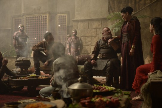Of Kings and Prophets 1x01 - JAMES FLOYD, RAY WINSTONE, SIMONE KESSELL, JEANINE MASON