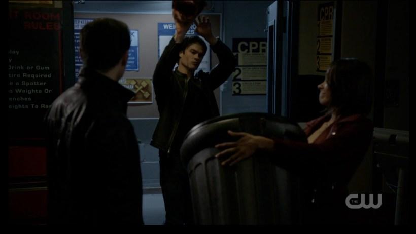 The Vampire Diaries 7x19 Bon Enzo Damon