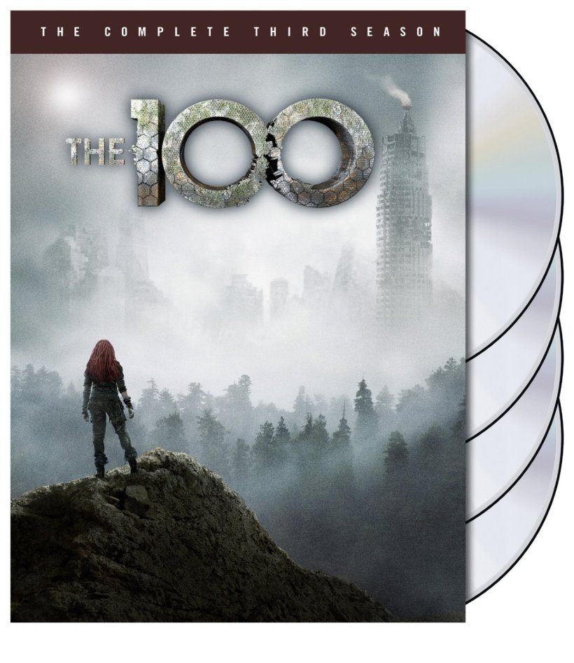 The 100 Season 3 DVD