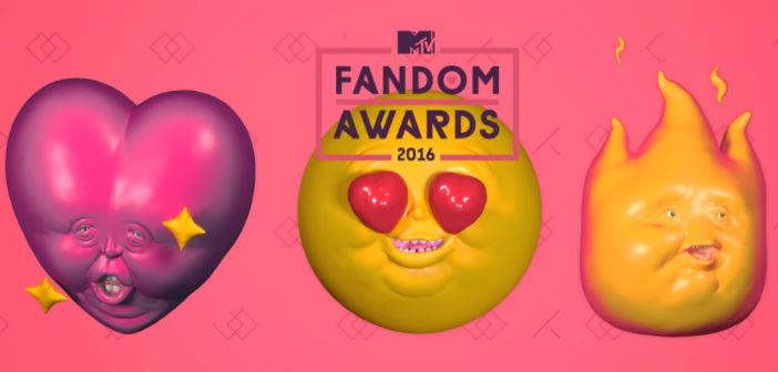 MTV Fandom Awards 2016