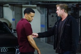 Secrets And Lies 2x05 -MICHAEL EALY, KENNY JOHNSON