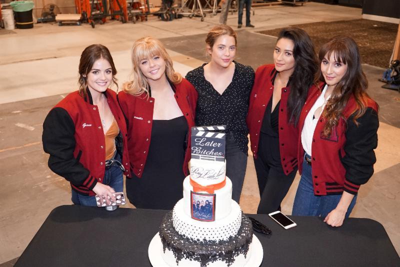 Pretty Little Liars Cast Celebrates Series Wrap in LA