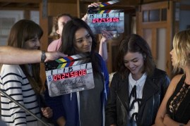 BTS Pretty Little Liars 7x12 -TROIAN BELLISARIO, SHAY MITCHELL, LUCY HALE, ASHLEY BENSON
