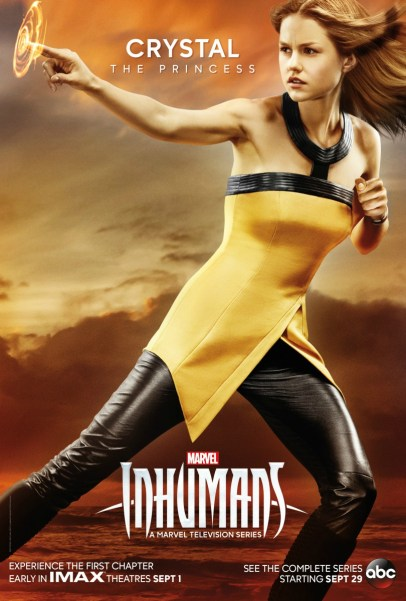 Inhumans Character Poster- Crystal