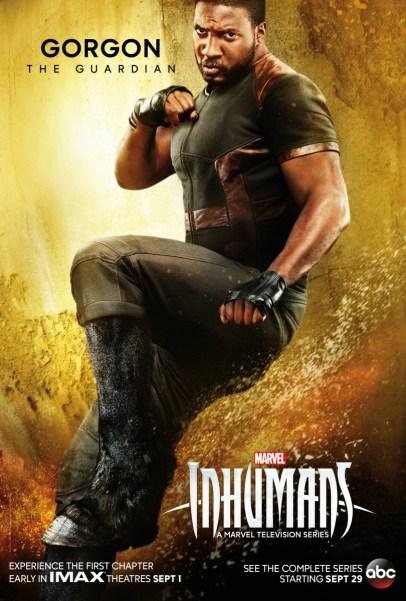 Inhumans Character Poster- Gorgon