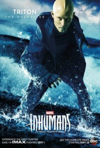 Inhumans Character Poster- Triton
