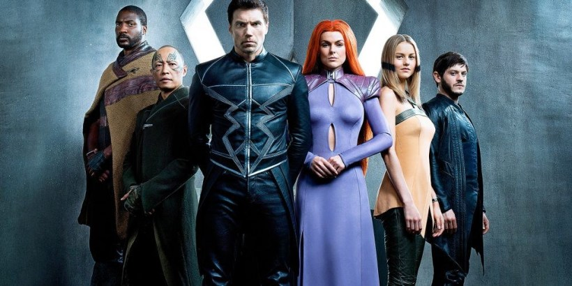inhumans cast