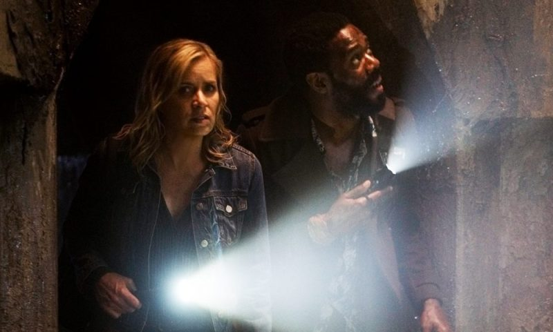 Kim Dickens and Colman Domingo in Fear The Walking Dead 3x11
