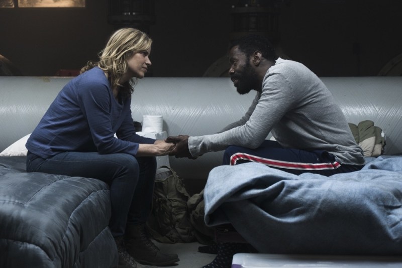 Kim Dickens as Madison Clark, Colman Domingo as Victor Strand - Fear the Walking Dead 3x11 - Photo Credit: Richard Foreman, Jr/AMC