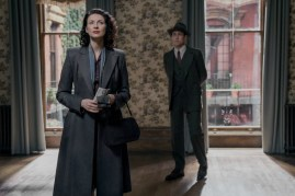 Outlander Boston Claire and Frank