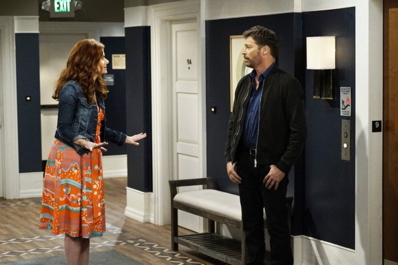 Will and Grace 1x03- Grace and Leo