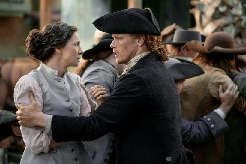 Outlander Jamie Claire