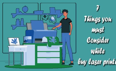 things consider while buy laser printer