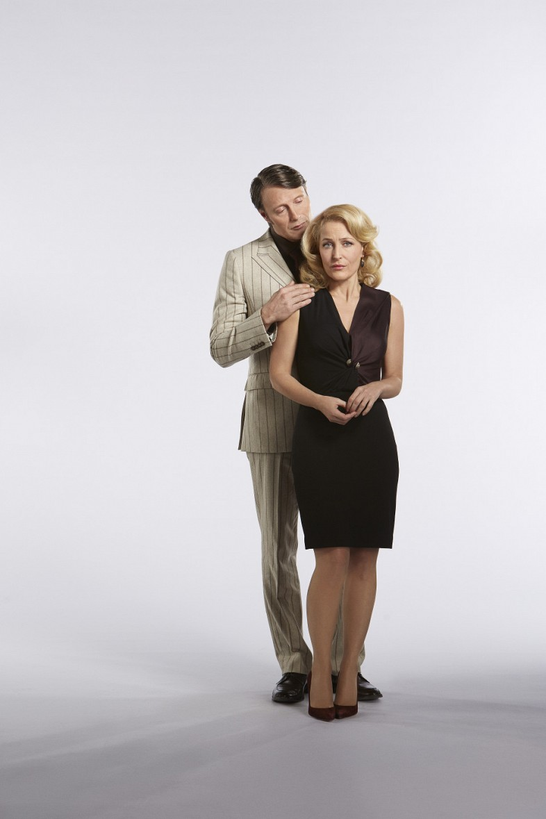 Gillian Anderson The Fall Wallpaper Hannibal Season 3 Promo Photos Include Costume Changes