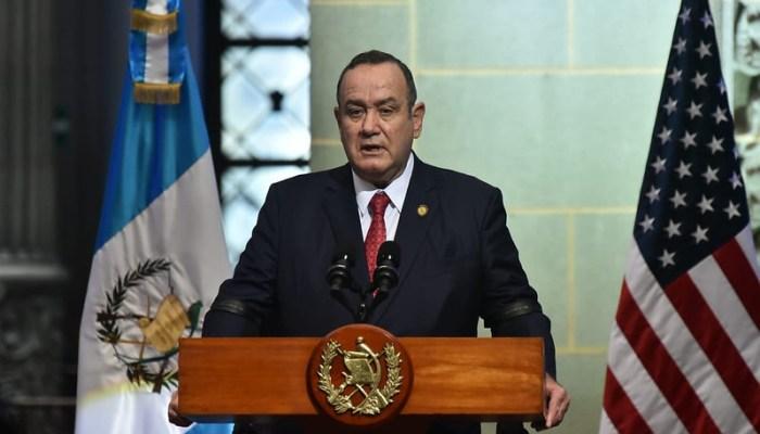 Alejandro Giammattei solicitó TPS para migrantes guatemaltecos