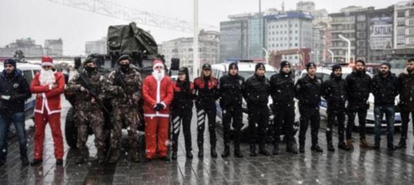 İstanbul'da yılbaşı önlemleri Taksim'de açıklandı