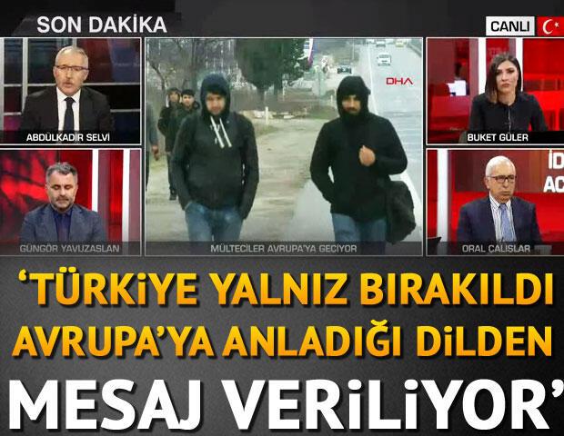 Son dakika haberi… Abdulkadir Selvi: Türkiye yalnız bırakıldı, Avrupa'ya anladığı dilden mesaj veriliyor
