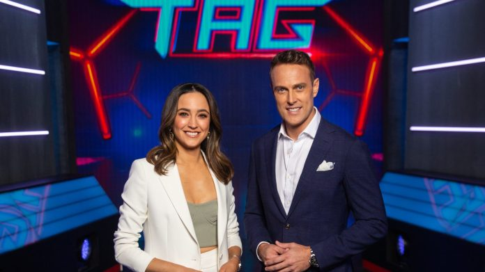 Abbey Gelmi and Matt Shirvington will host Ultimate Tag in 2021
