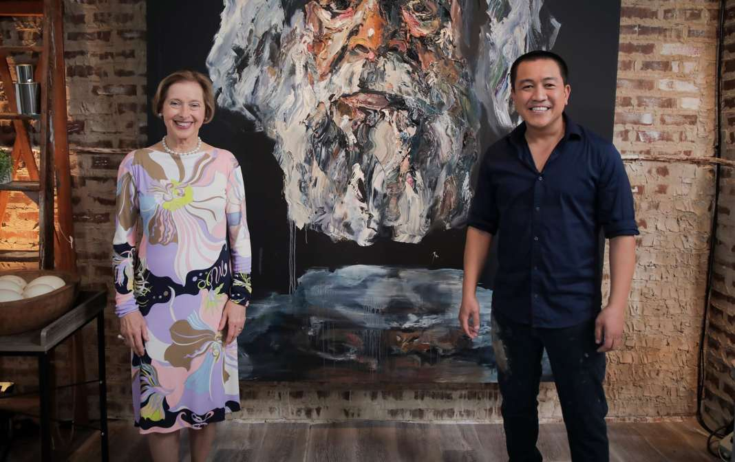 Gai Waterhouse with Anh Do (image - ABC)