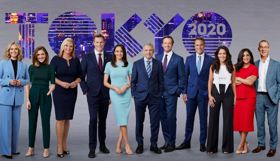 Seven's hosting team for the Tokyo Olympic Games (image - Channel 7)