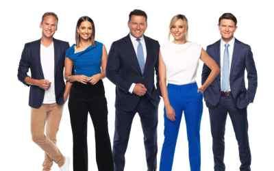Tim Davies, Brooke Boney, Karl Stefanovic, Allison Langdon, and Alex Cullen host TODAY (image - Nine)