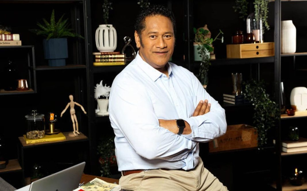 Jay Laga'aia presents Lost For Words (image - SBS)