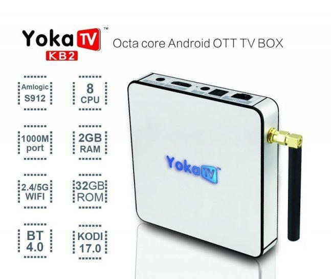 YoKa TV KB2 S912 32GB