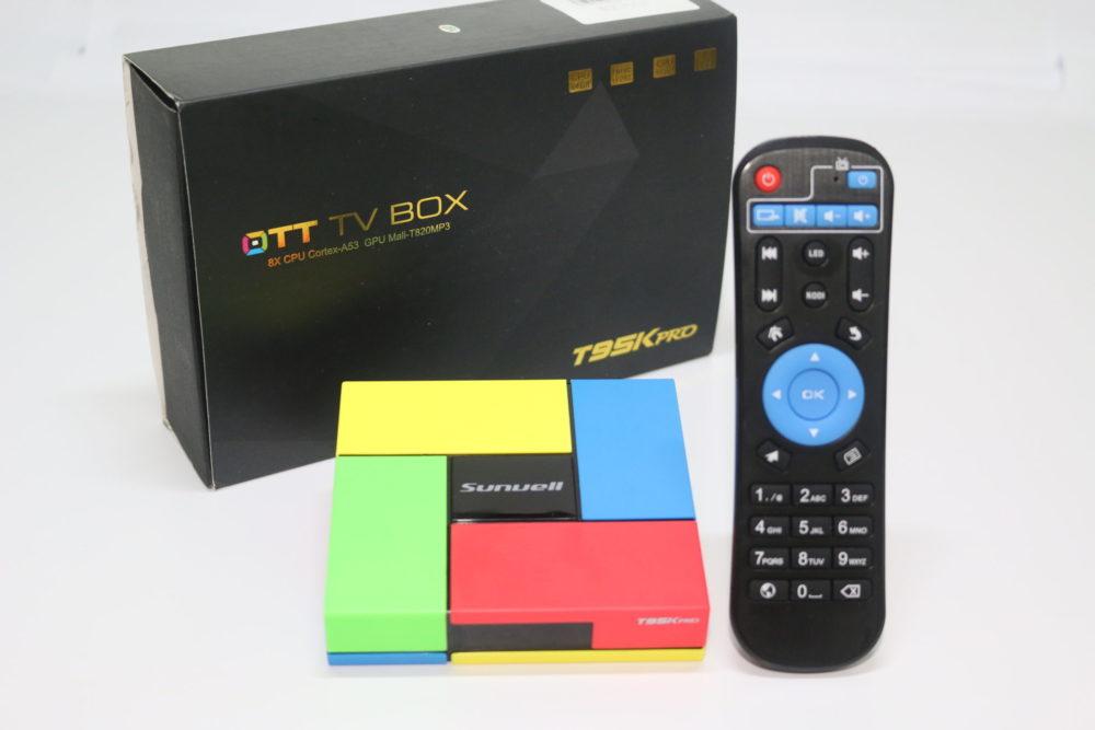 Sunvell T95K Pro TV box